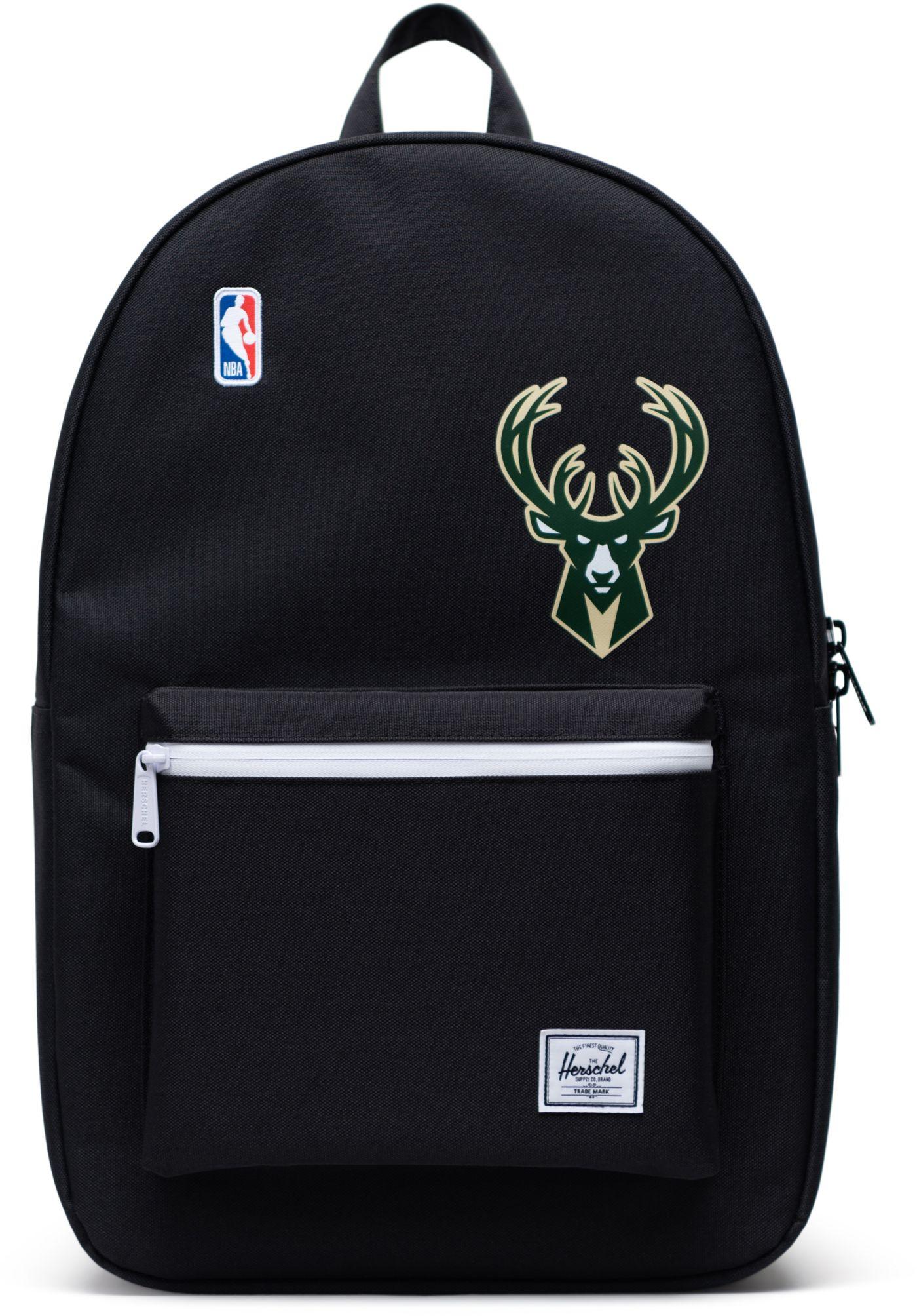 Herschel Milwaukee Bucks Black Settlement Backpack