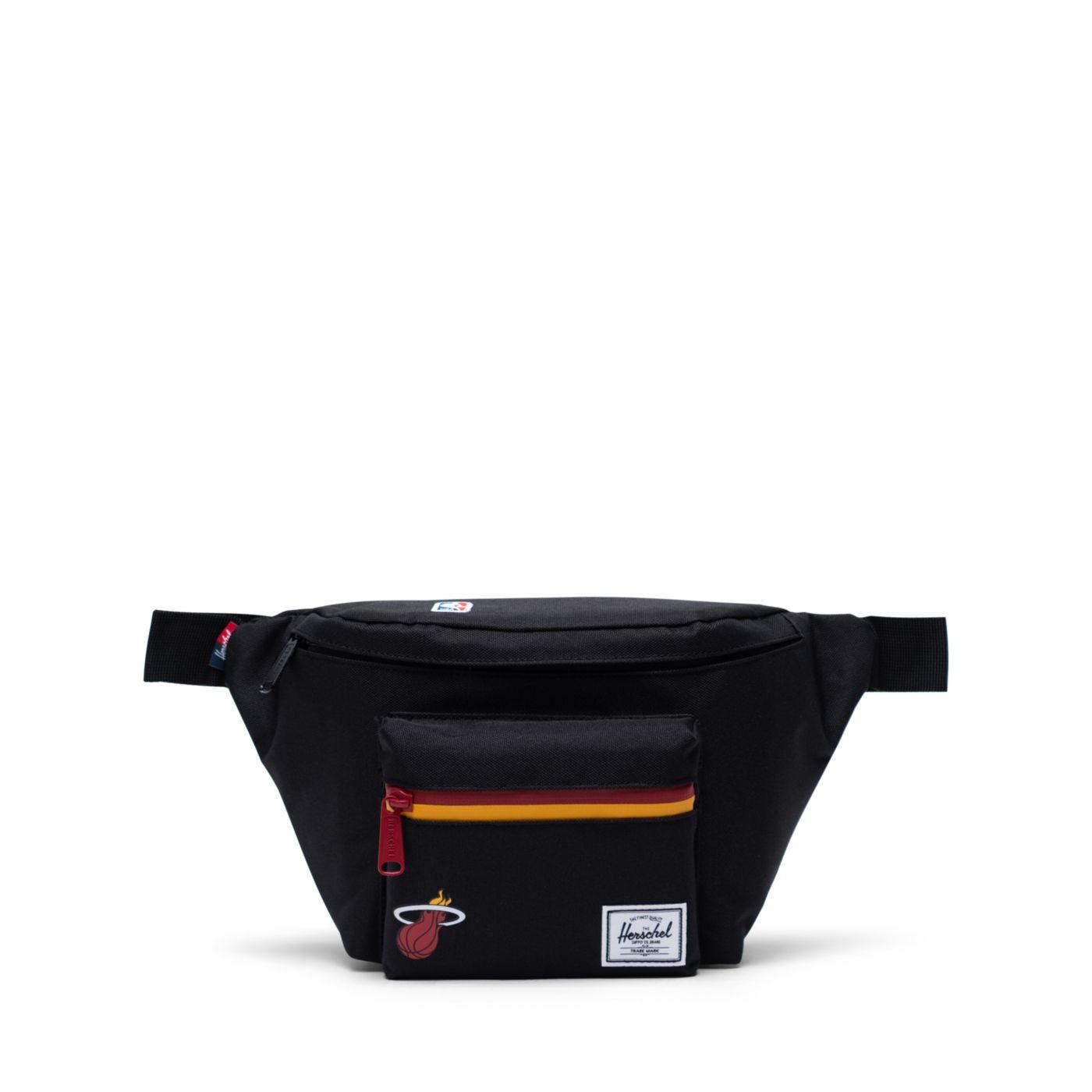 Herschel Miami Heat Black Hip Pack