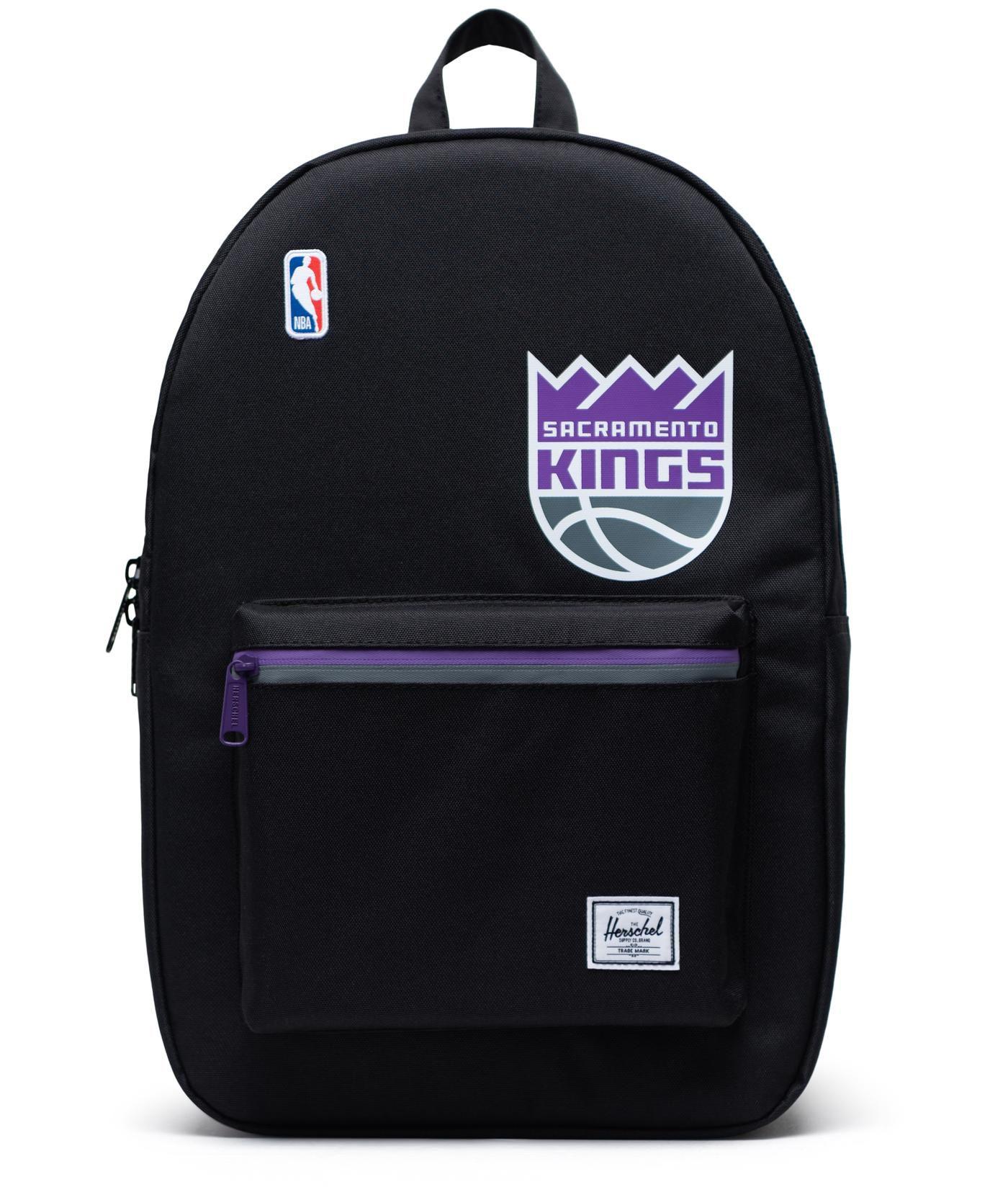 Herschel Sacramento Kings Black Settlement Backpack