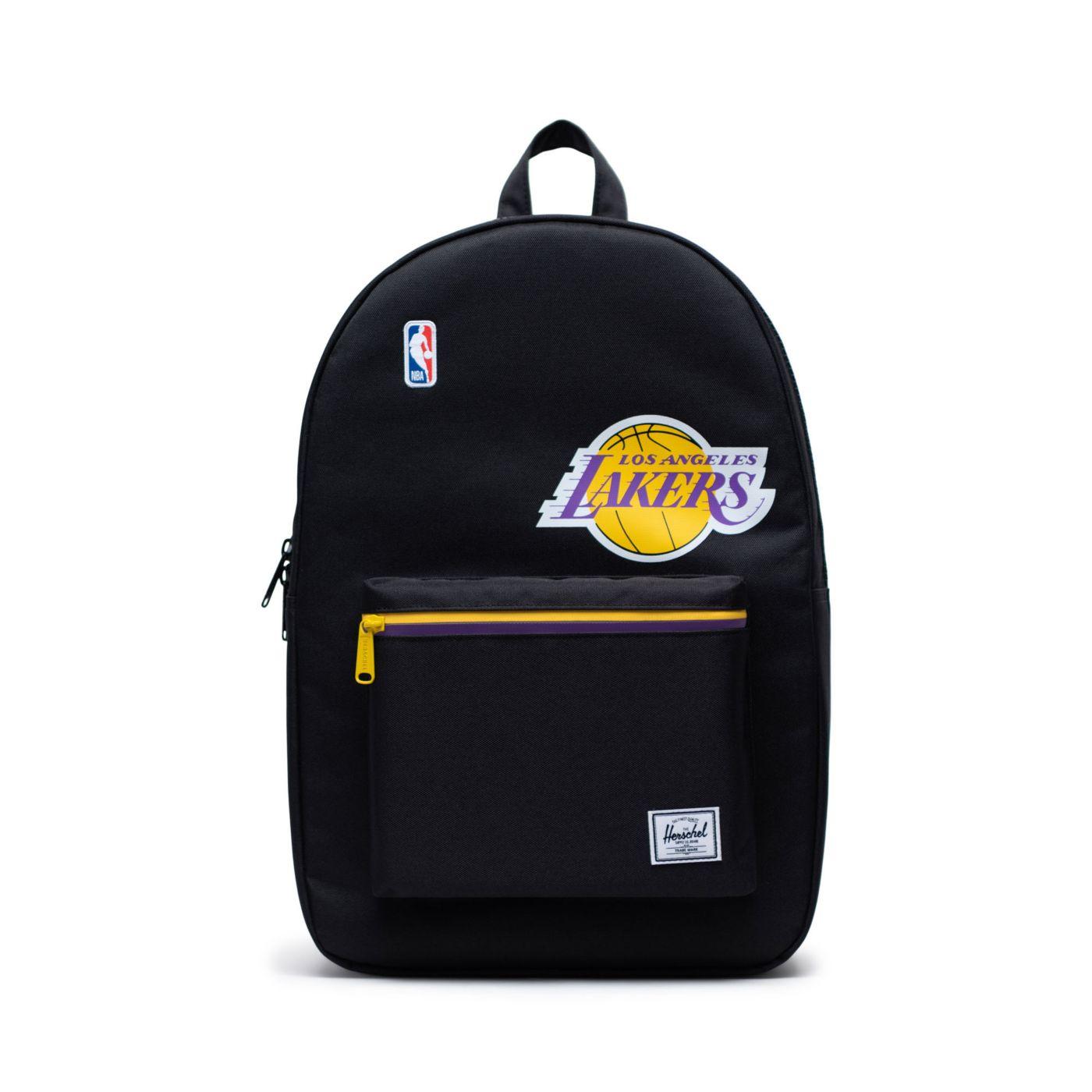 Herschel Los Angeles Lakers Black Settlement Backpack