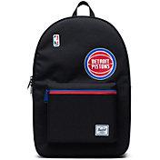 Herschel Detroit Pistons Black Settlement Backpack