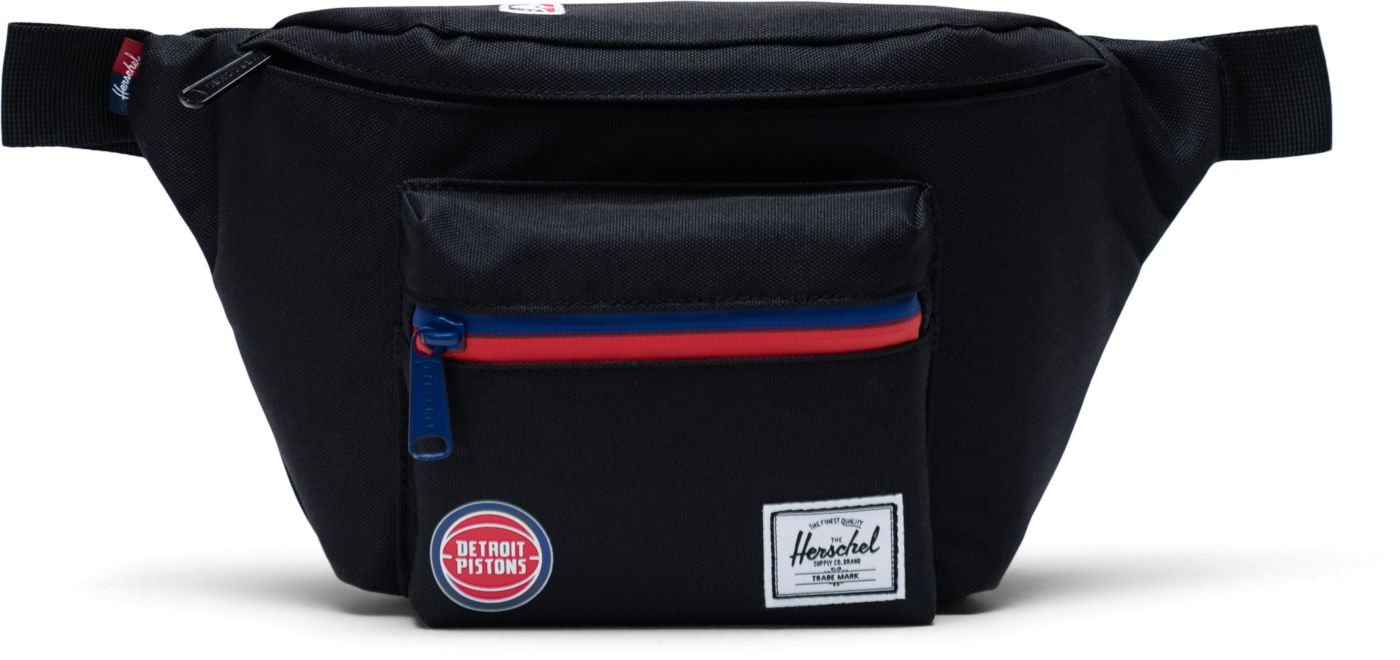 Herschel Detroit Pistons Black Hip Pack