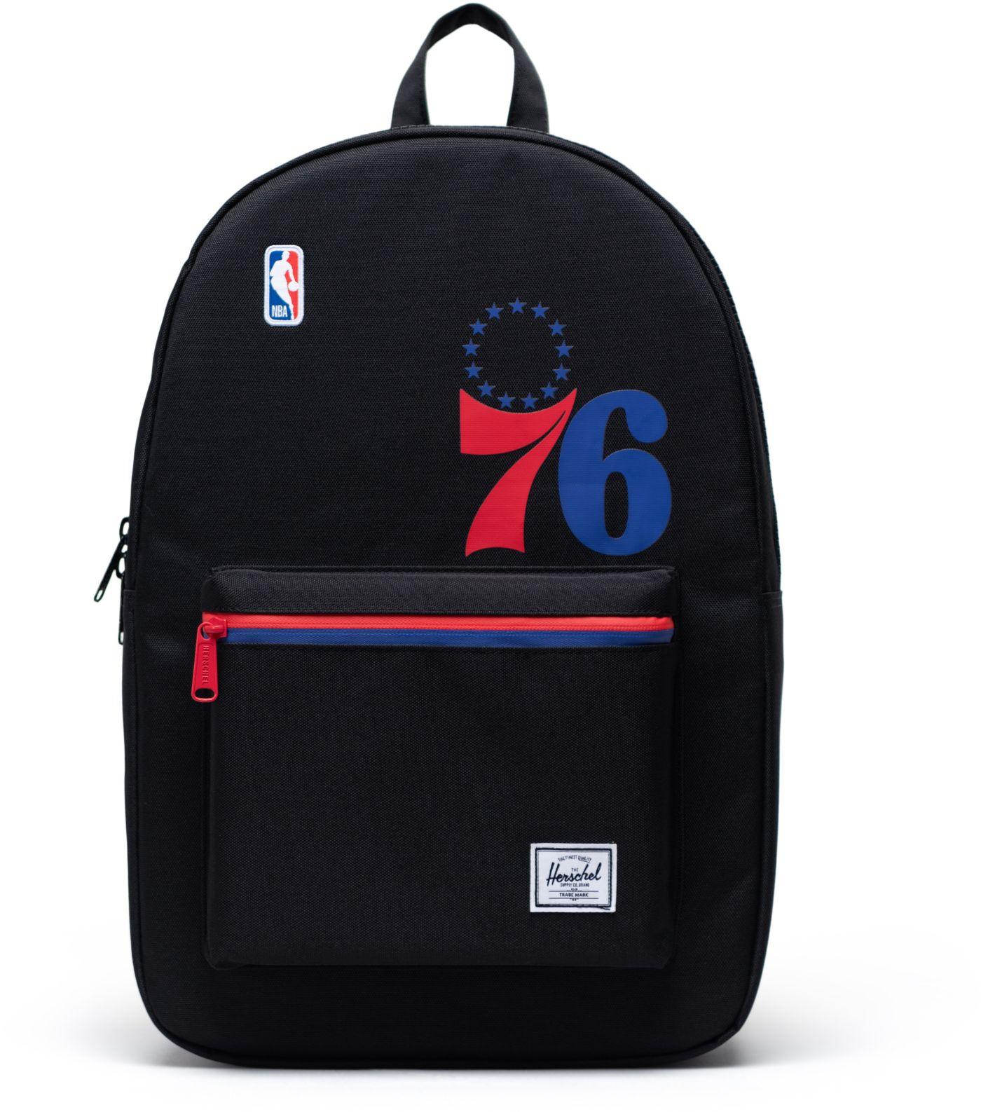 Herschel Philadelphia 76ers Black Settlement Backpack