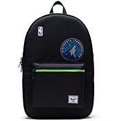 Herschel Minnesota Timberwolves Black Settlement Backpack