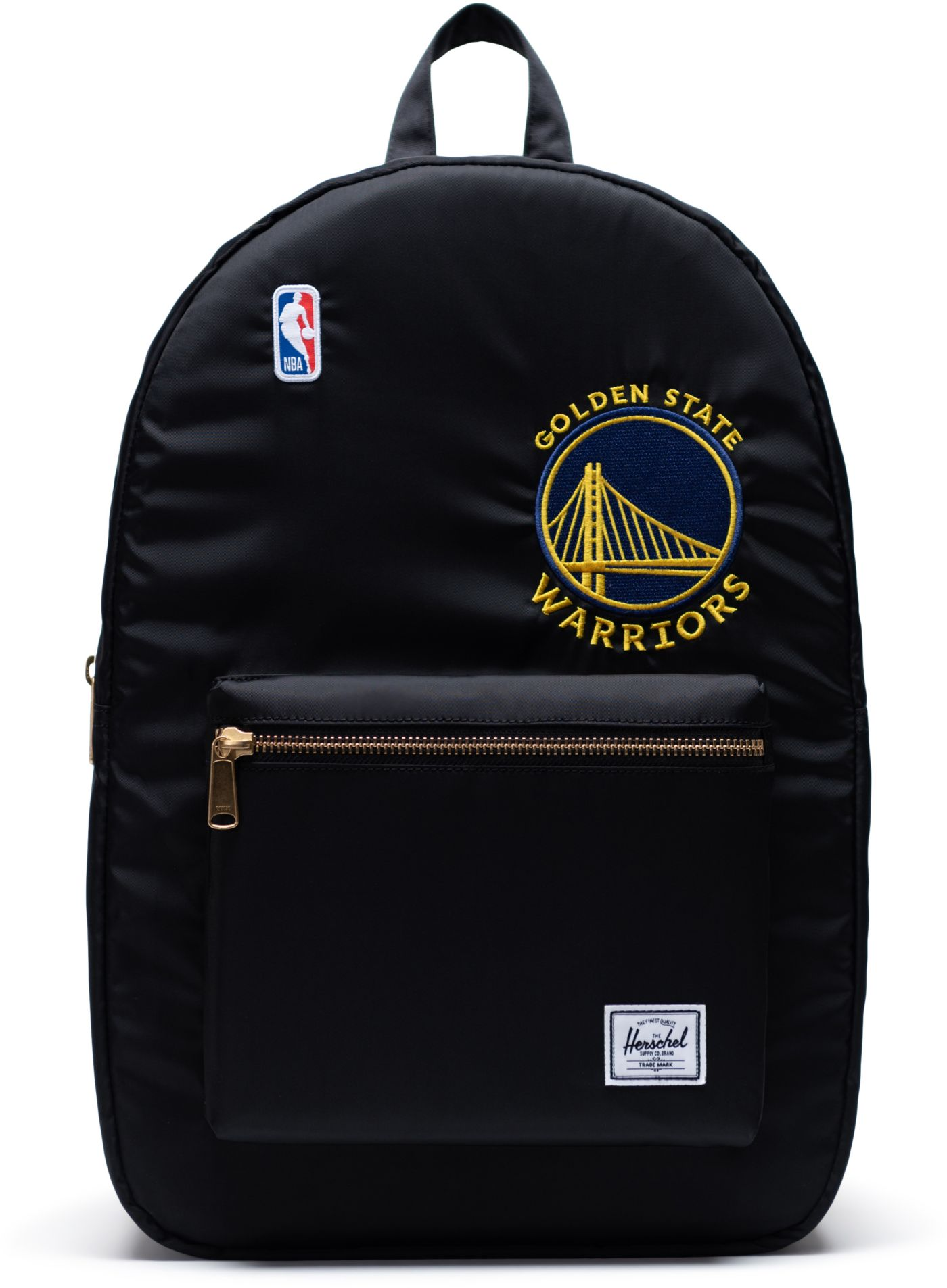 Herschel Golden State Warriors Black Settlement Backpack