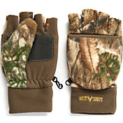 Hot Shot Youth Fleece Pop Top Mittens