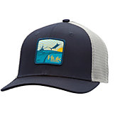 Huk Men's Barrels Patch Trucker Hat