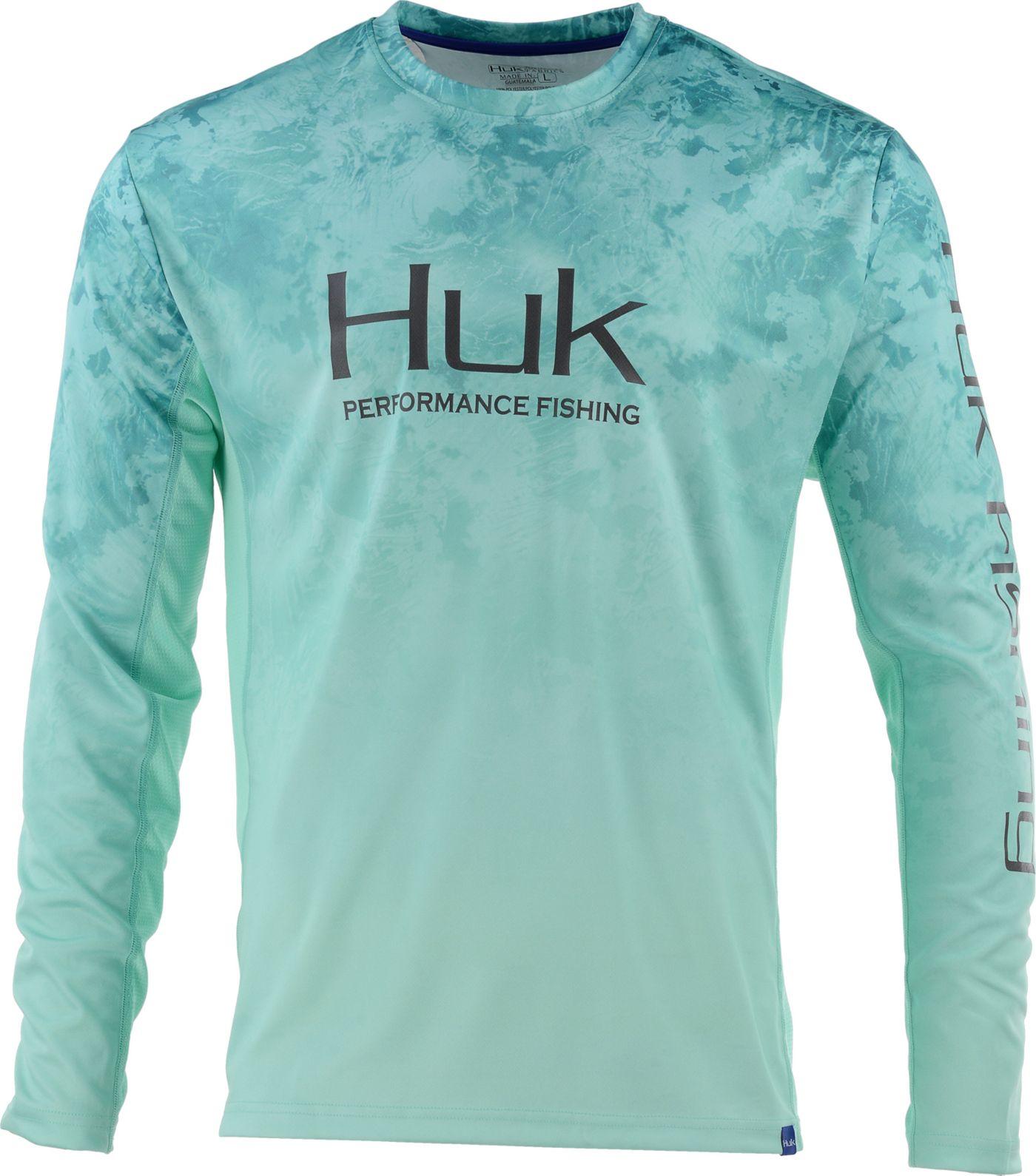 HUK Men's Icon X Camo Fade Performance Fishing Long Sleeve Shirt (Regular and Big & Tall)