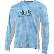HUK Men's Icon X Camo Long Sleeve Fishing Shirt