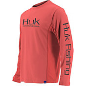 HUK Men's Icon X Performance Fishing Long Sleeve Shirt (Regular and Big & Tall)