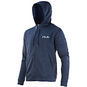 Huk Men's Hull Fullzip Fleece Hoodie