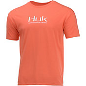 HUK Men's Performance Fishing Logo  T-Shirt