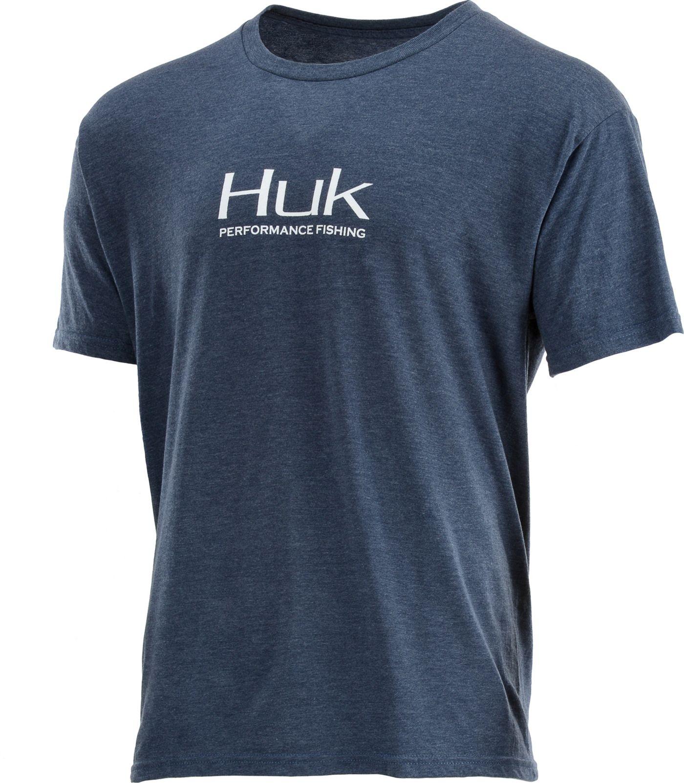 HUK Men's Performance Fishing Logo  T-Shirt