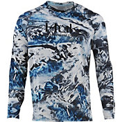 Huk Pursuit Camo Vented Long Sleeve Fishing Shirt