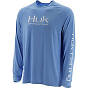 Huk Men's Pursuit Vented Long Sleeve Shirt (Regular and Big & Tall)