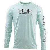 Huk Men's Pursuit Vented Long Sleeve Shirt (Regular and Big & Tall)