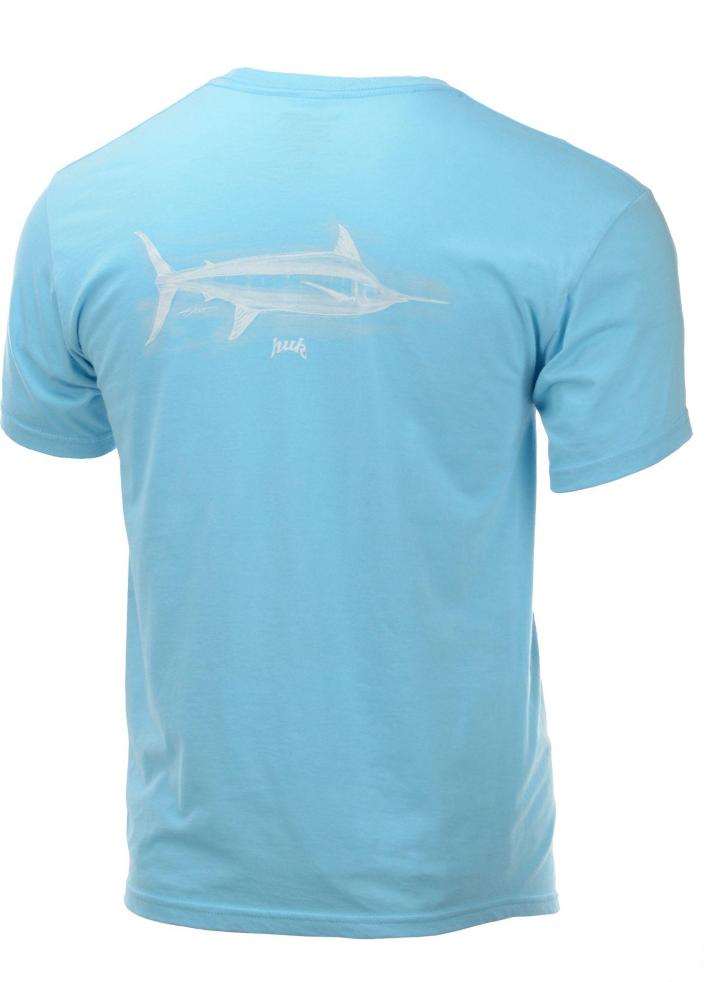 Huk Men's Marlin Ink Short Sleeve T-Shirt
