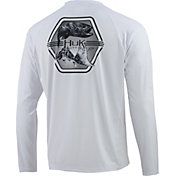 Huk Men's Pursuit Atlantic Fresh Long Sleeve Performance Shirt