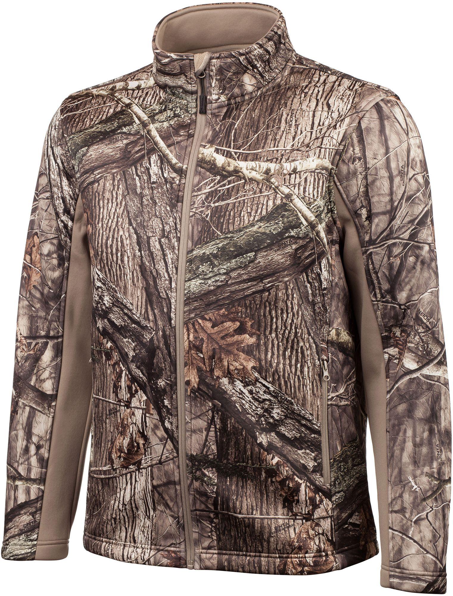 Huntworth Men's Mid Weight Soft Shell Hunting Jacket, Size: Medium, Hidd N Camo