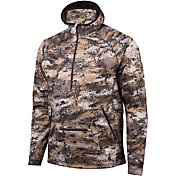 Huntworth Men's Hooded 1/4 Zip Pullover