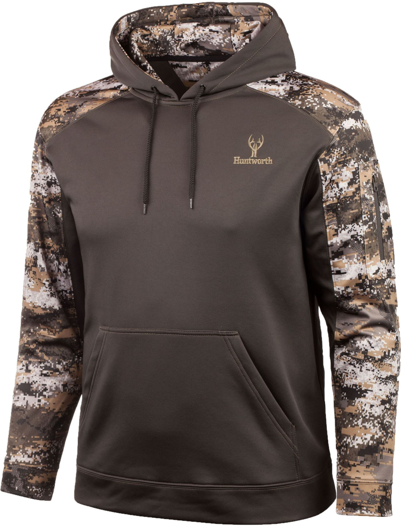 Huntworth Men's Heather Fleece Hoodie