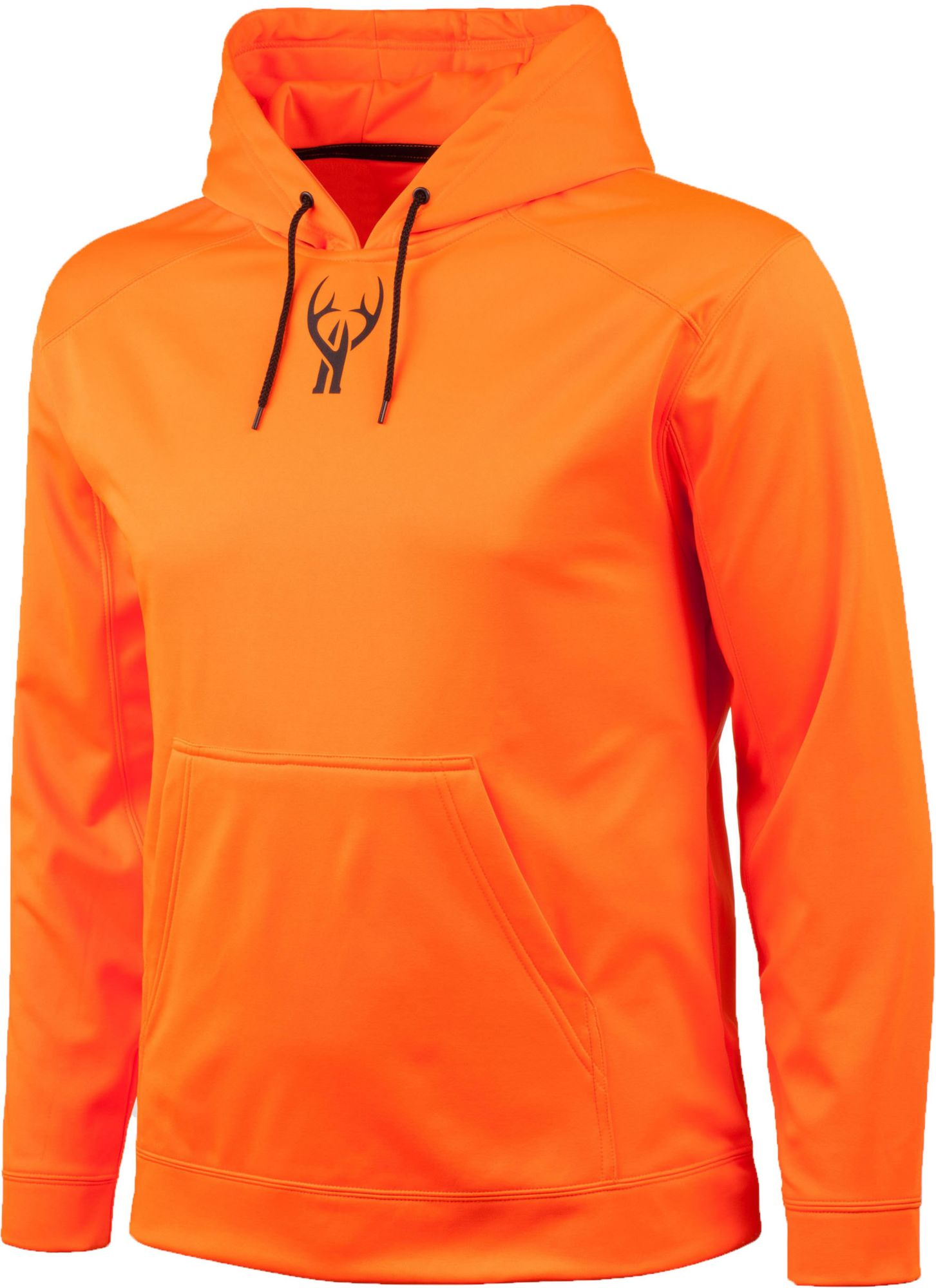 Huntworth Men's Performance Fleece Hoodie, Size: Large, Blaze thumbnail