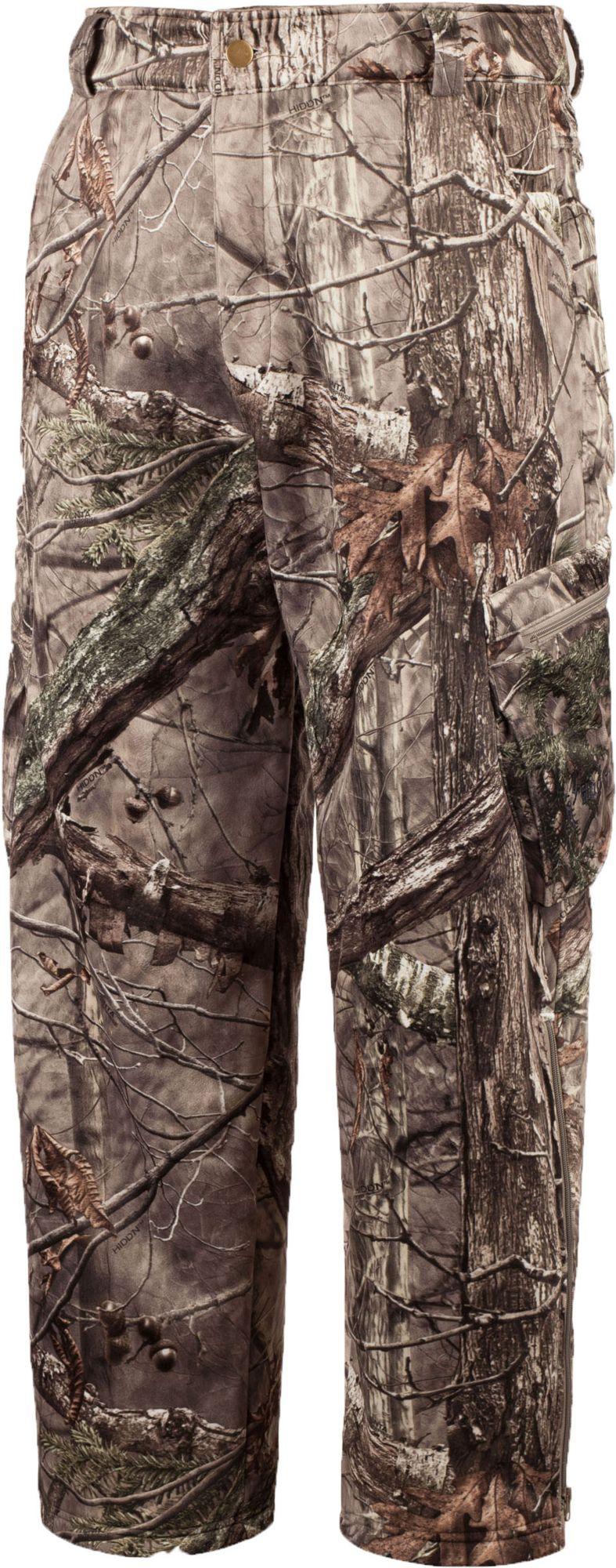 Huntworth Men's Soft Shell Hunting Pants, Size: Large, Hidd N Camo thumbnail