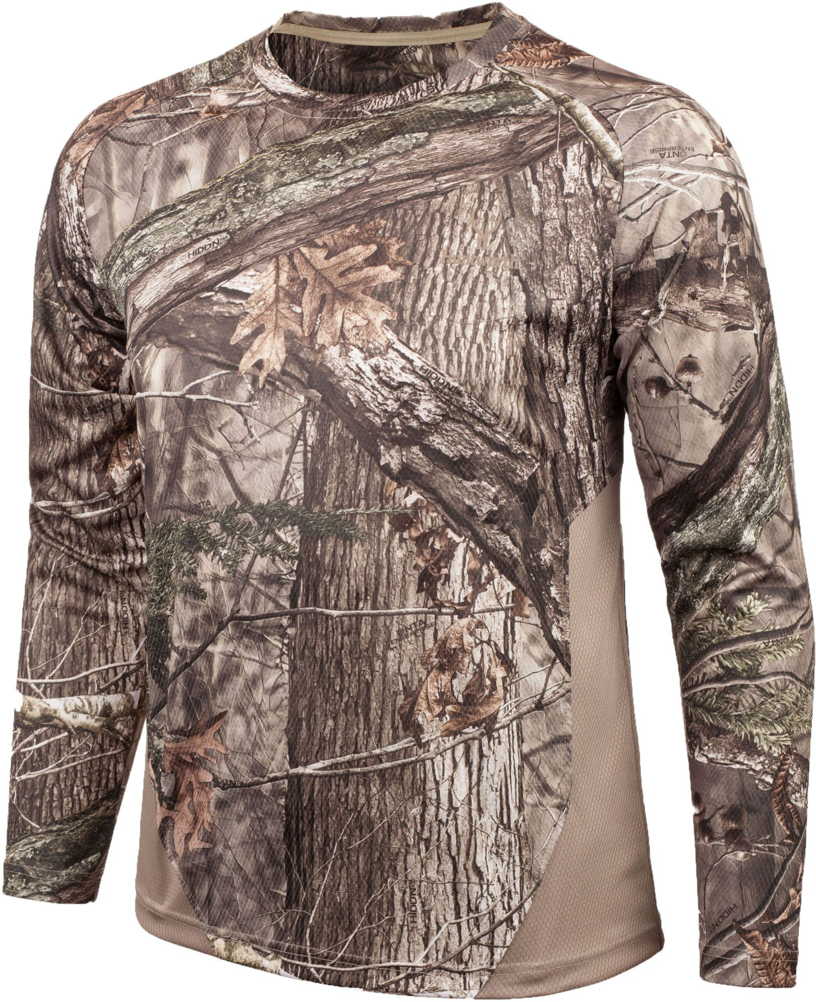 Huntworth Women's Long Sleeve Hunting Shirt, Size: Medium, Hidd N Camo thumbnail