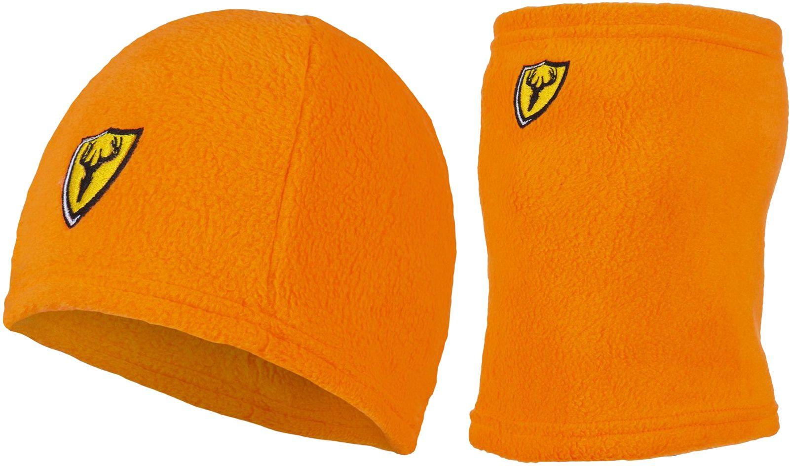 Blocker Outdoors Shield Series Beanie/Gaiter Combo, Men's, Blaze Orange thumbnail