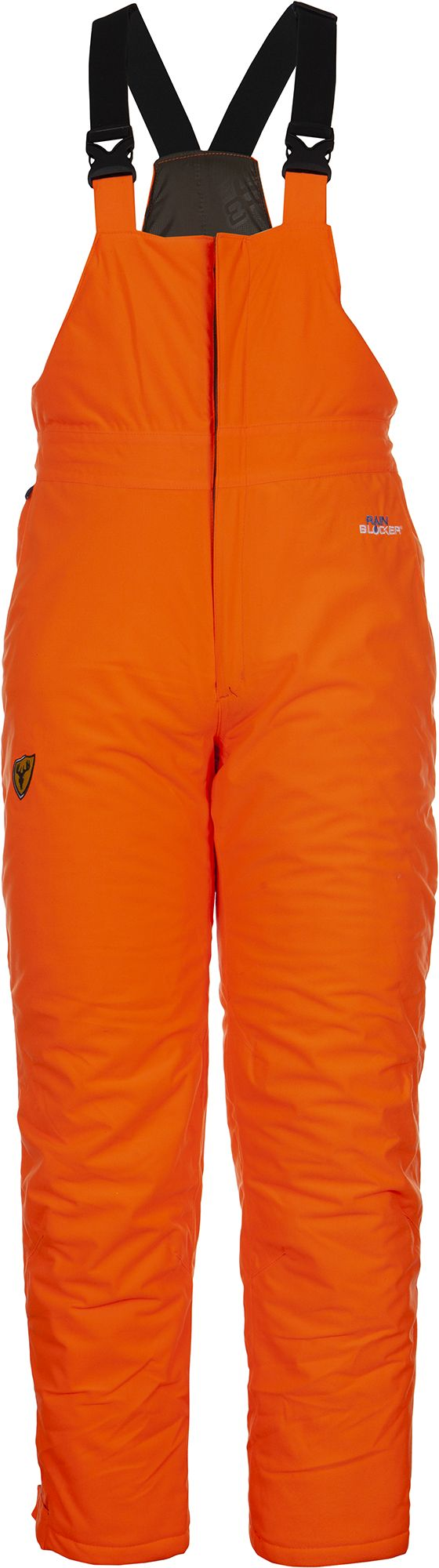 Blocker Outdoors Men's Drencher Insulated Bib, Size: Large, Blaze Orange thumbnail