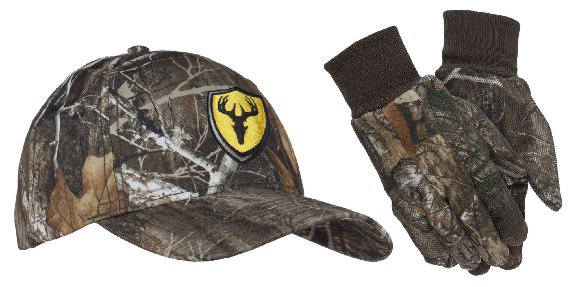 Blocker Outdoors Shield Hat / Glove Combo, Men's, Medium/Large, Green thumbnail