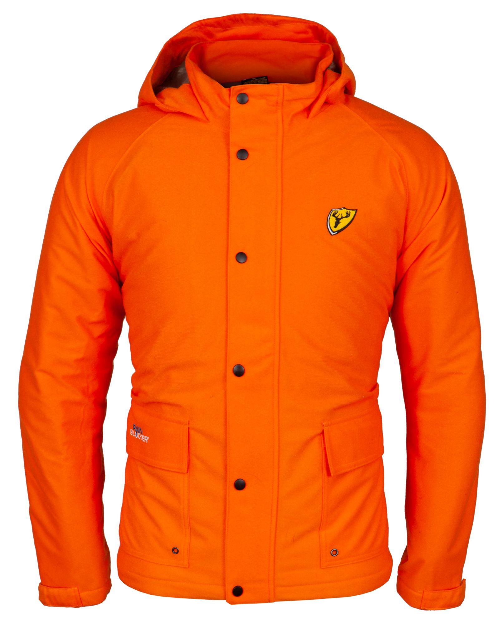 Blocker Outdoors Drencher Series Men's Insulated Jacket, XL, Blaze Orange thumbnail
