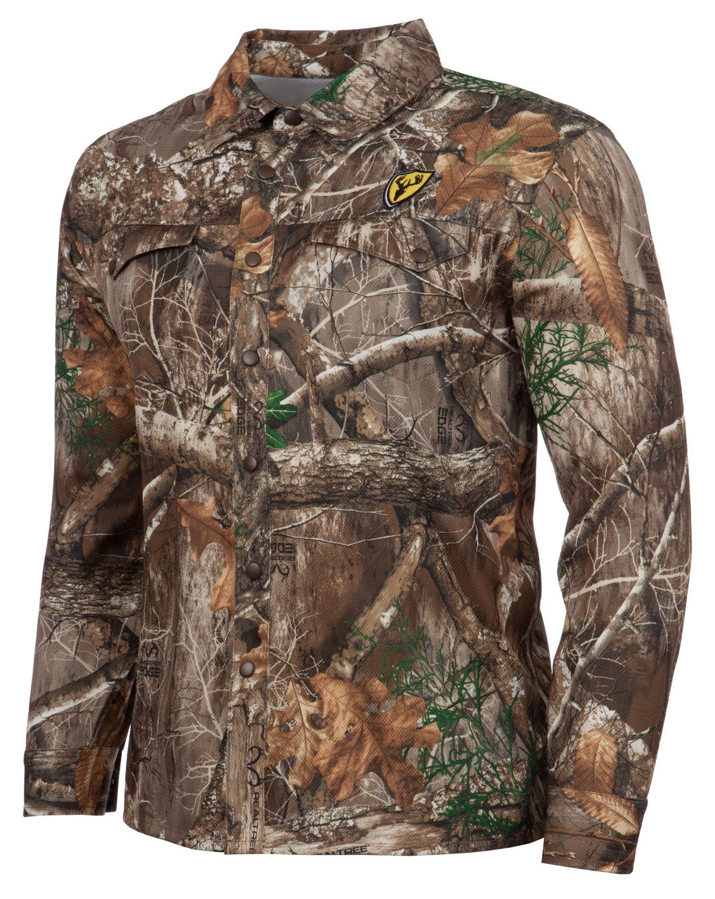 Blocker Outdoors Men's Shield Series Angatec Snap Shirt