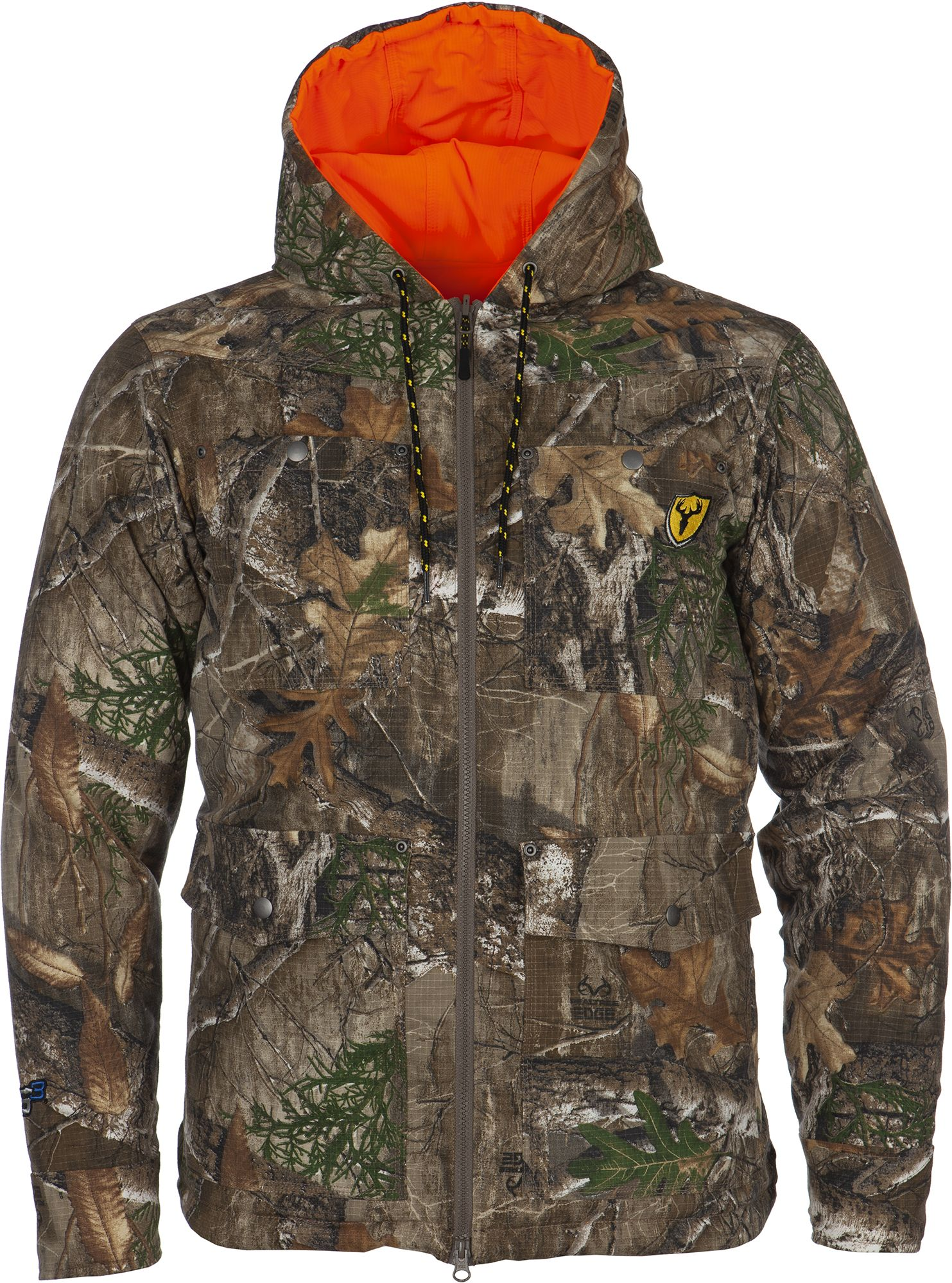 Blocker Outdoors Men's Shield Series Evolve Reversible Parka, Size: Medium, Blaze thumbnail