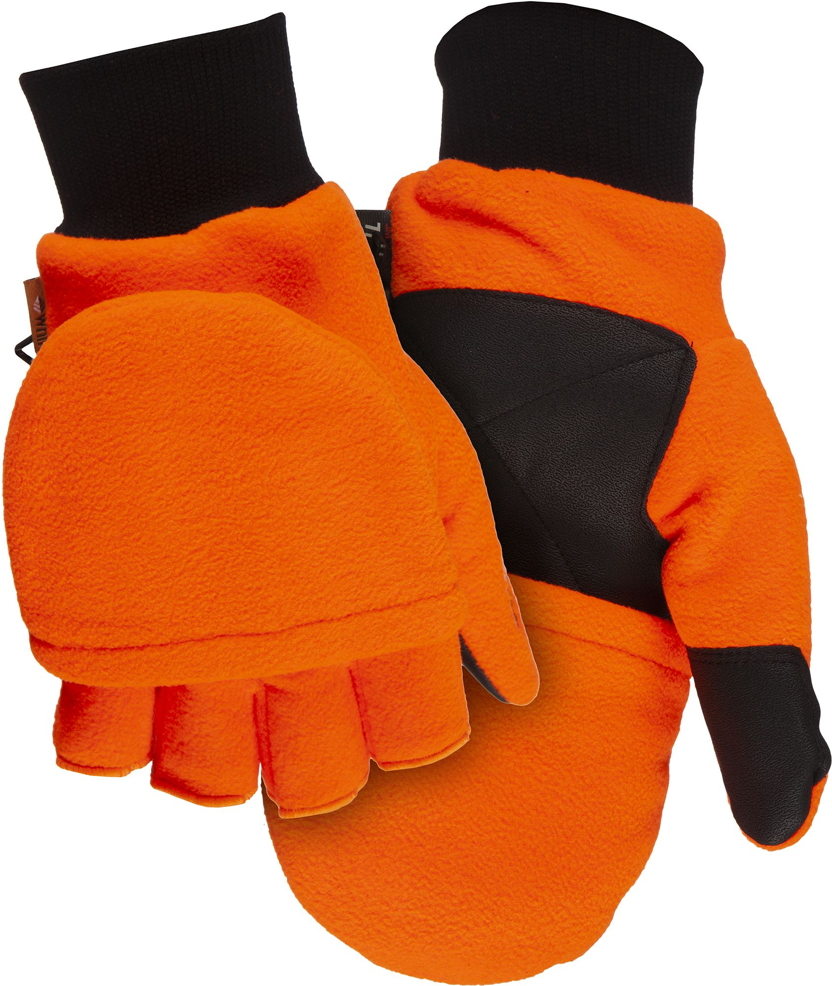 Blocker Outdoors Youth Fleece Glo-Mitt, Kids Unisex, Size: One size, Blaze Orange thumbnail