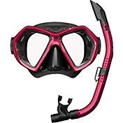 Reef Tourer Adult X-Plore 2-Window Mask & Snorkel Combo