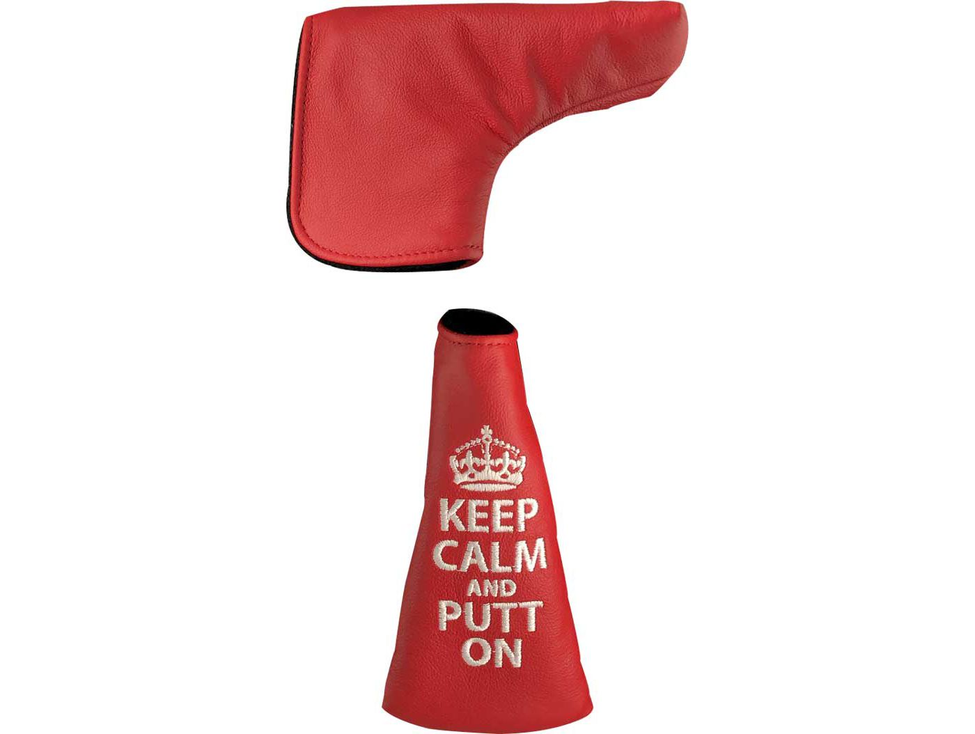 Dormie Workshop Keep Calm and Hit Bombs Blade Putter Headcover