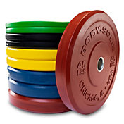 Body Solid OBPXC260 Colored Bumper Plates
