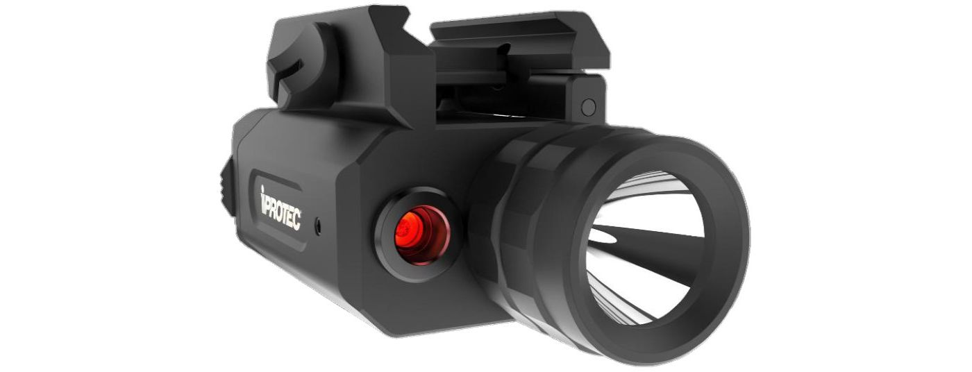 iProtec RM230-LSR Gun Light with Red Laser