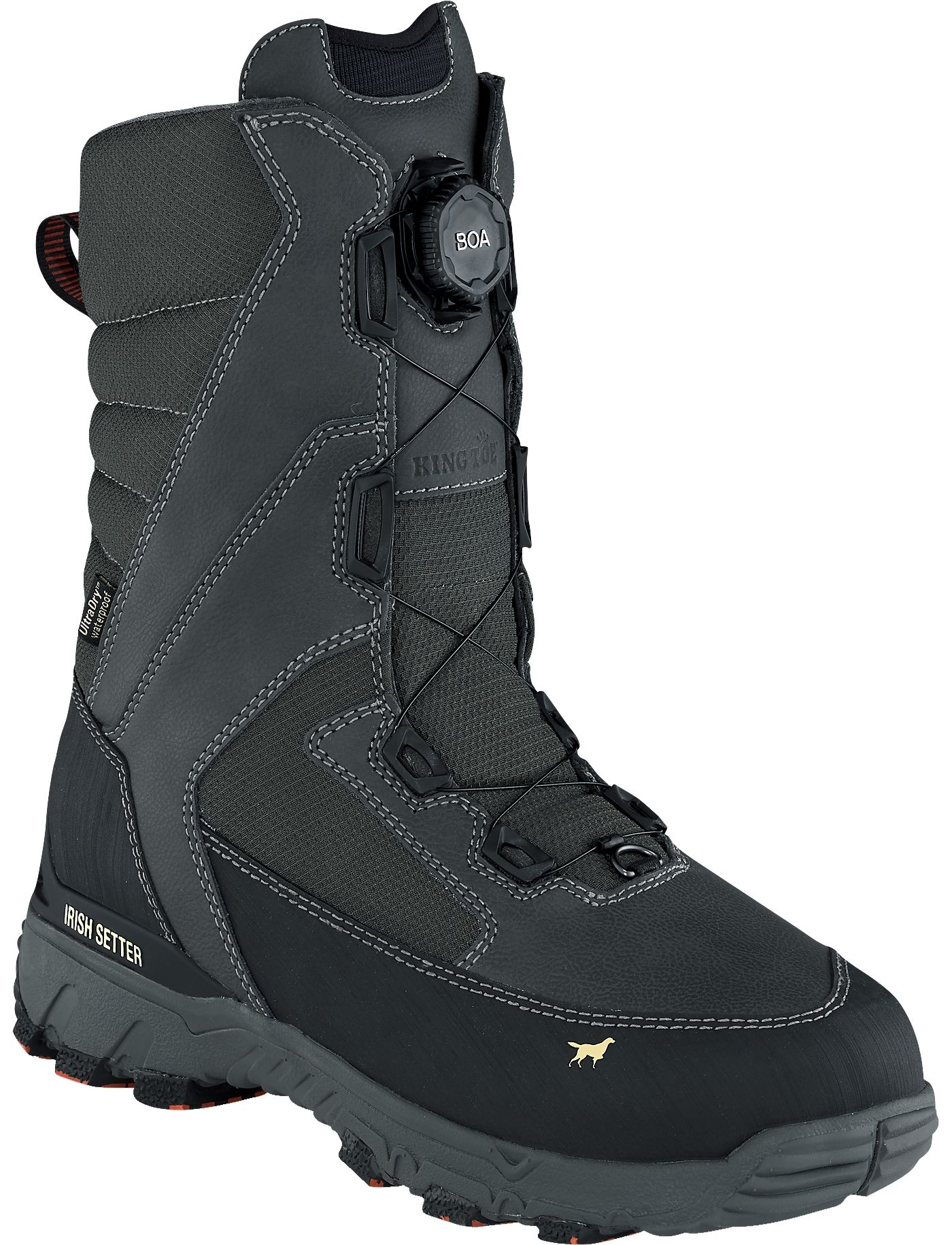 Irish Setter Men's Icetrek 12'' 1600g Waterproof Hunting Boots