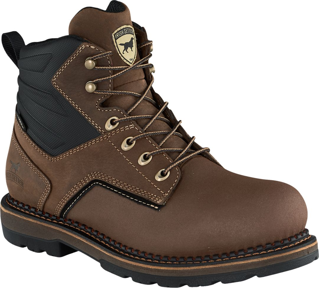 8fc7608c0c8 Irish Setter Men's Ramsey 2.0 6'' Waterproof Aluminum Toe Work Boots
