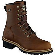 Irish Setter Men's Mesabi Logger 8'' Waterproof Steel Toe Work Boots