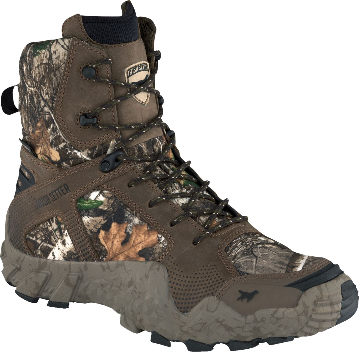 Irish Setter Men's VaprTrek 8'' Realtree Edge Waterproof Hunting Boots