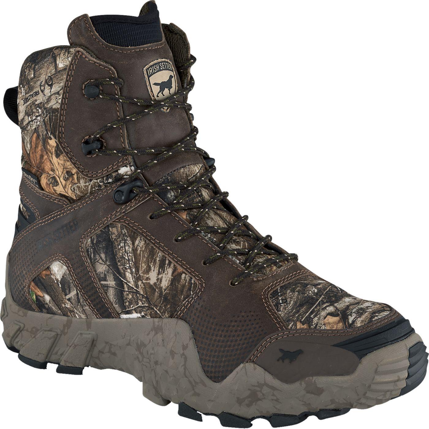 Irish Setter Men's VaprTrek 8'' Realtree Edge 400g Waterproof Hunting Boots