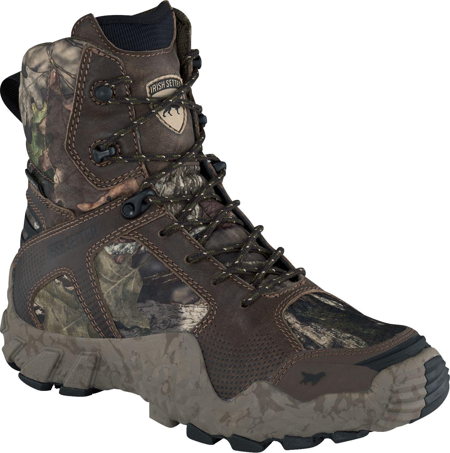 Irish Setter Women's VaprTrek 8'' Mossy Oak 400g Waterproof Hunting Boots, Size: 5.0, Brown thumbnail