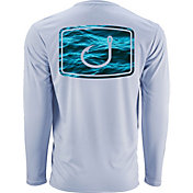 AVID Men's Water Camo AVIDry Long Sleeve Performance Shirt