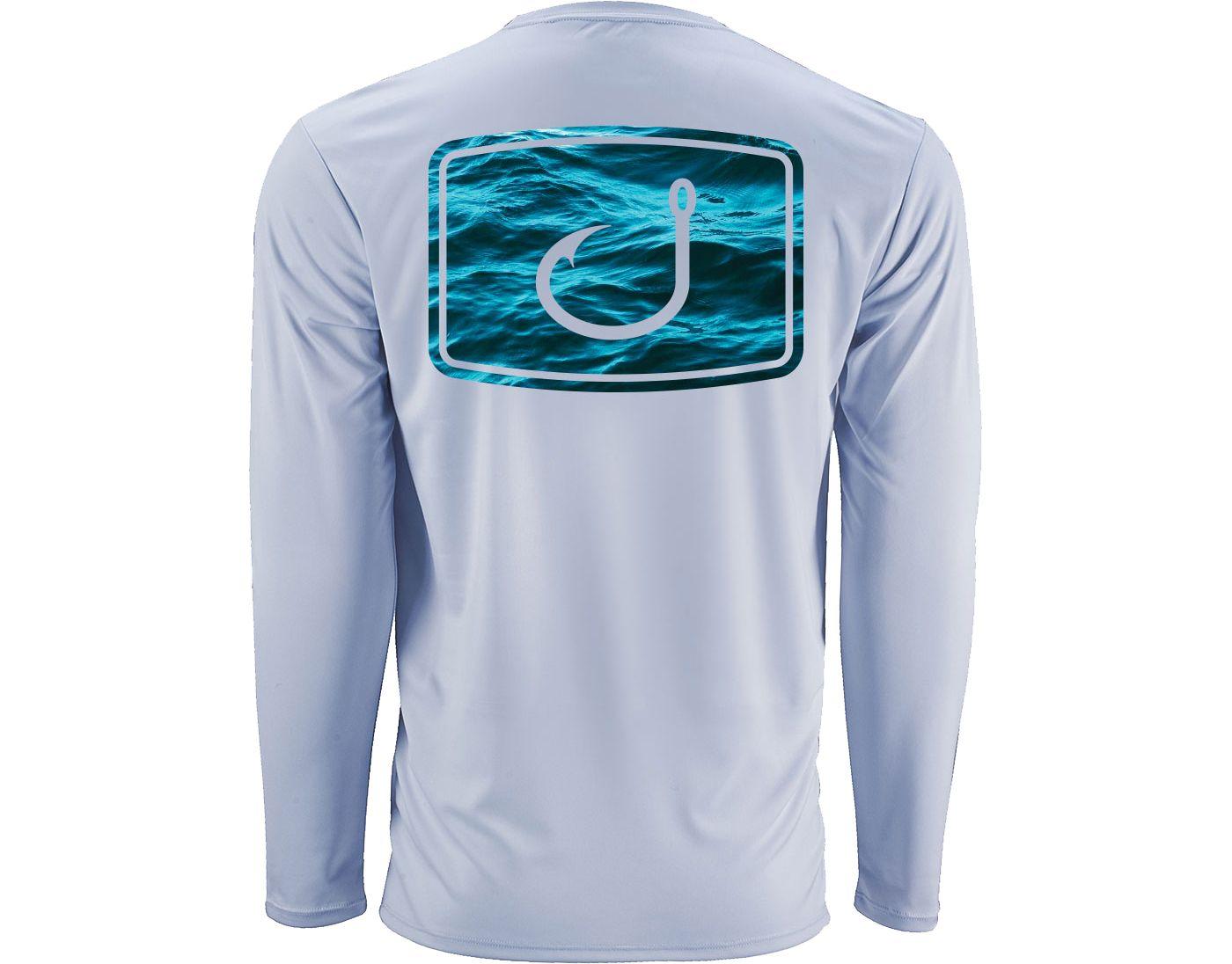AVID Men's Water Camo AVIDry Long Sleeve Performance Shirt