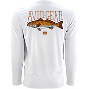 AVID Men's Trophy Redfish AVIDry UPF 50+ Long Sleeve Shirt