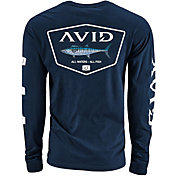 AVID Men's Wahoo Crest Long Sleeve T-Shirt