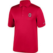 Scarlet & Gray Men's Ohio State Buckeyes Scarlet Embroidered Polo